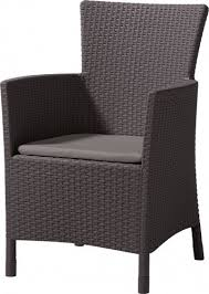 <b>Кресло</b> пластиковое мягкое <b>Keter Iowa</b>, коричневый - купить в ...