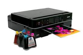 МФУ <b>Epson Stylus Photo</b> TX710W с СНПЧ и <b>чернилами</b>