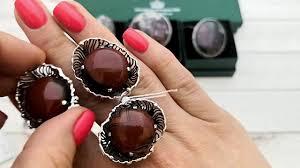 Серебряные украшения   с <b>аметистом</b>, кианитом, агаты разных ...