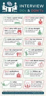 ideas about job interview tips job interview job interview dos and don ts infographic entrevistas de trabajo cosas