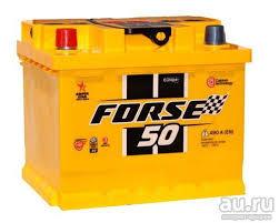 Аккумулятор автомобильный <b>Forse 50 Ач</b> R (кубик). Новый ...