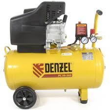 Воздушный <b>компрессор DENZEL PC</b> 50-260, 1,8 кВт, 260л/мин ...