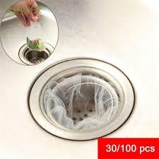 <b>30</b>/<b>100 Pcs</b> Collector Clogging Prevent <b>Kitchen Drain Sink Strainer</b> ...