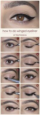 10 tutorials to make flawless eyeliners