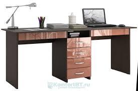 Купить <b>Письменный стол Мастер Тандем</b>-<b>2Я</b> Глянец венге ...