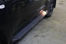 <b>Боковые пороги</b>, <b>подножки</b> с подсветкой Land Cruiser 200 (2008 ...