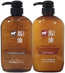 Kumano fat horse oil shampoo and conditioner each ... - Amazon.com