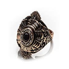 Винтажное <b>позолоченное кольцо</b> с гранатом и кристаллами ...
