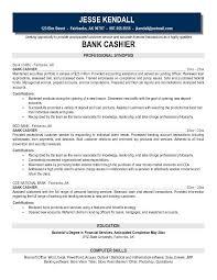 banker resume samples  seangarrette cojk bank cashier cashier objective resume sample   banker resume