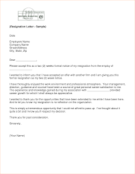 weeks notice letter for retail  business proposal templated   at least resignation letter example two weeks notice cachedtwo weeks