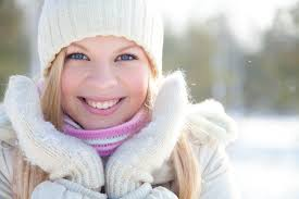 Image result for glowing skin in winter