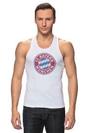 Майка классическая <b>Бавария Мюнхен</b> #663532 по цене 1 055 руб ...