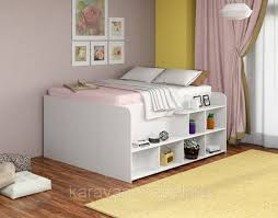 Двуспальная <b>кровать Twist</b> up правая белый: продажа, цена в ...
