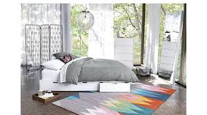 stowaway white queen bed stowaway white queen bed cb2 bedroom furniture