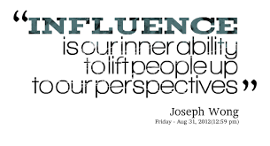 Influence Quotes. QuotesGram