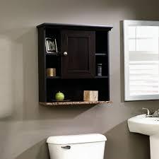 amazoncom sauder wall cabinet cinnamon cherry finish kitchen dining bathroom storage wall cabinets bathroom