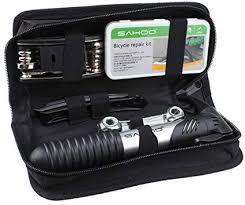 Bicycle <b>Tire</b> Repair <b>Multi</b>-<b>function</b> Tool Kit with Mini <b>Portable</b> Pump