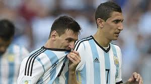 Image result for messi di maria