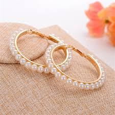 <b>2019</b> Fashion <b>Jewelry</b> Full Simulated Pearl <b>Earring</b> For Women ...