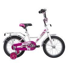 Детский велосипед <b>Novatrack 14 URBAN</b>, <b>белый</b> 2 — купить в ...