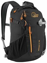 <b>Рюкзак Lowe Alpine Edge</b> II 18 black (black/pumpkin) — купить по ...