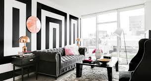 Черно-белые обои в интерьере и особенности их использования