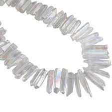 mookaitedecor <b>Titanium Coated</b> Rock Crystal Quartz <b>Crystal Points</b> ...