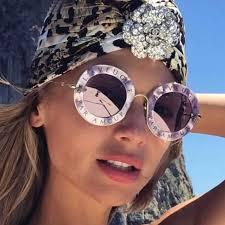 <b>PAWXFB</b> Brand <b>2019</b> New Trendy Brown Cat Eye Sunglasses ...