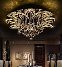 <b>LED Modern K9</b> Clear Crystal Ceiling Pendant Lamp Chandelier (In ...