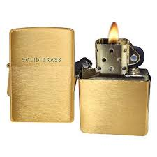 "<b>Зажигалка</b> Zippo 204 ""Brushed <b>Brass</b>"" w/<b>Solid</b>: цены, обзоры ..."