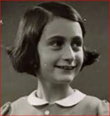 Anne Frank while still living in Holland. - anne-frank-portrc3a6t