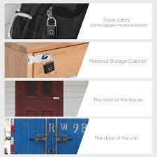 <b>Towode Keyless USB Rechargeable</b> Door Lock Fingerprint Smart ...