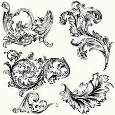<b>Набор декоративных украшений</b> vctor в винтажном стиле ...