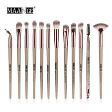 Other <b>MAANGE</b> Pro 3/<b>5/12 pcs</b>/lot Makeup Brushes Set Eye Shadow ...