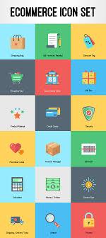 free ecommerce icon set by rafi basic icons flat icons 1000