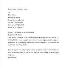 professional fax cover letter cover letter outline examples