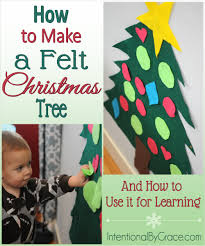 How to Make a <b>Felt Christmas Tree</b> (and How to Use It for Learning ...