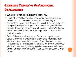 human development theories essay  wwwgxartorg theories of human development erikson s theory of psychosocial development  what