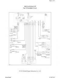 1994 f150 headlight wiring diagram 1994 wiring diagrams