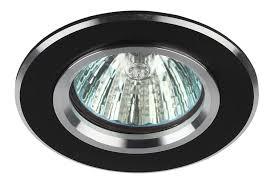 <b>Встраиваемый светильник ЭРА KL58</b> SL/BK купить в ...