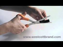 Westcott <b>NonStick Scissors</b> Demo