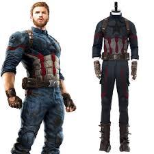 <b>Avengers</b>: <b>Infinity War Captain</b> America Steven Rogers Cosplay ...
