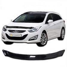 <b>Дефлектор капота</b> Hyundai i30, с 2012 - г., <b>Classic</b>, черный ...