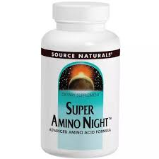 Source Naturals <b>Amino</b> Acids <b>Super Night</b>