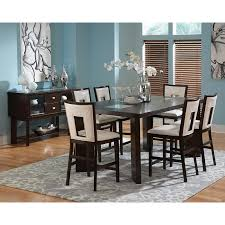 cherry counter height piece: steve silver delano  piece counter height dining set espresso dining table sets at hayneedle