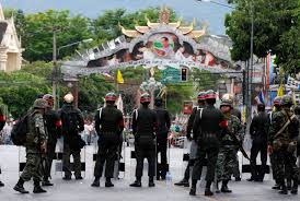 Пять военнослужащих получили ранения в результате взрывов ...