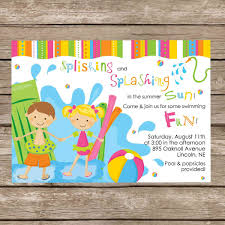 printable pool party invitations net printablebeachpartyinvitations party invitations middot printable pool