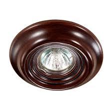 Встраиваемый <b>светильник Novotech 370089</b>, коричневый