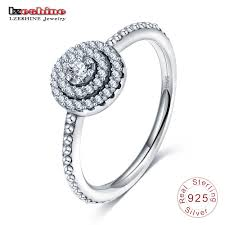 <b>100</b>% <b>authentic</b> antique <b>925 sterling</b> silver rings with aaa zirconia ...