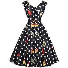 <b>Women's</b> Fashion Sex Floral Maxi Vintage <b>Sleeveless Polka Dot</b> ...